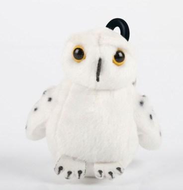 Mini Peluche Sonore Chouette Hedwige