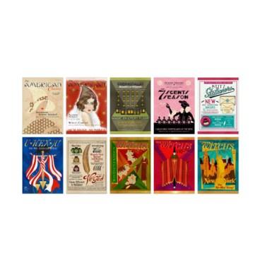 Lot de 20 cartes postales - American Magazine