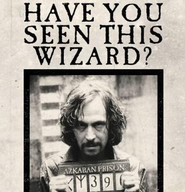 Carte Lenticulaire Sirius Black