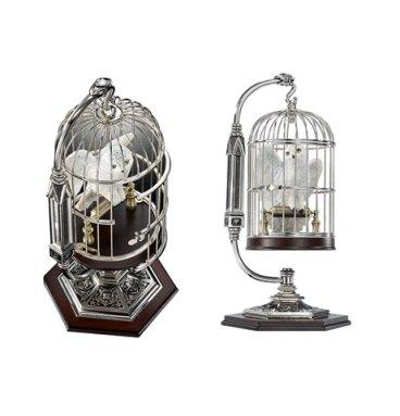 Hedwige miniature en cage