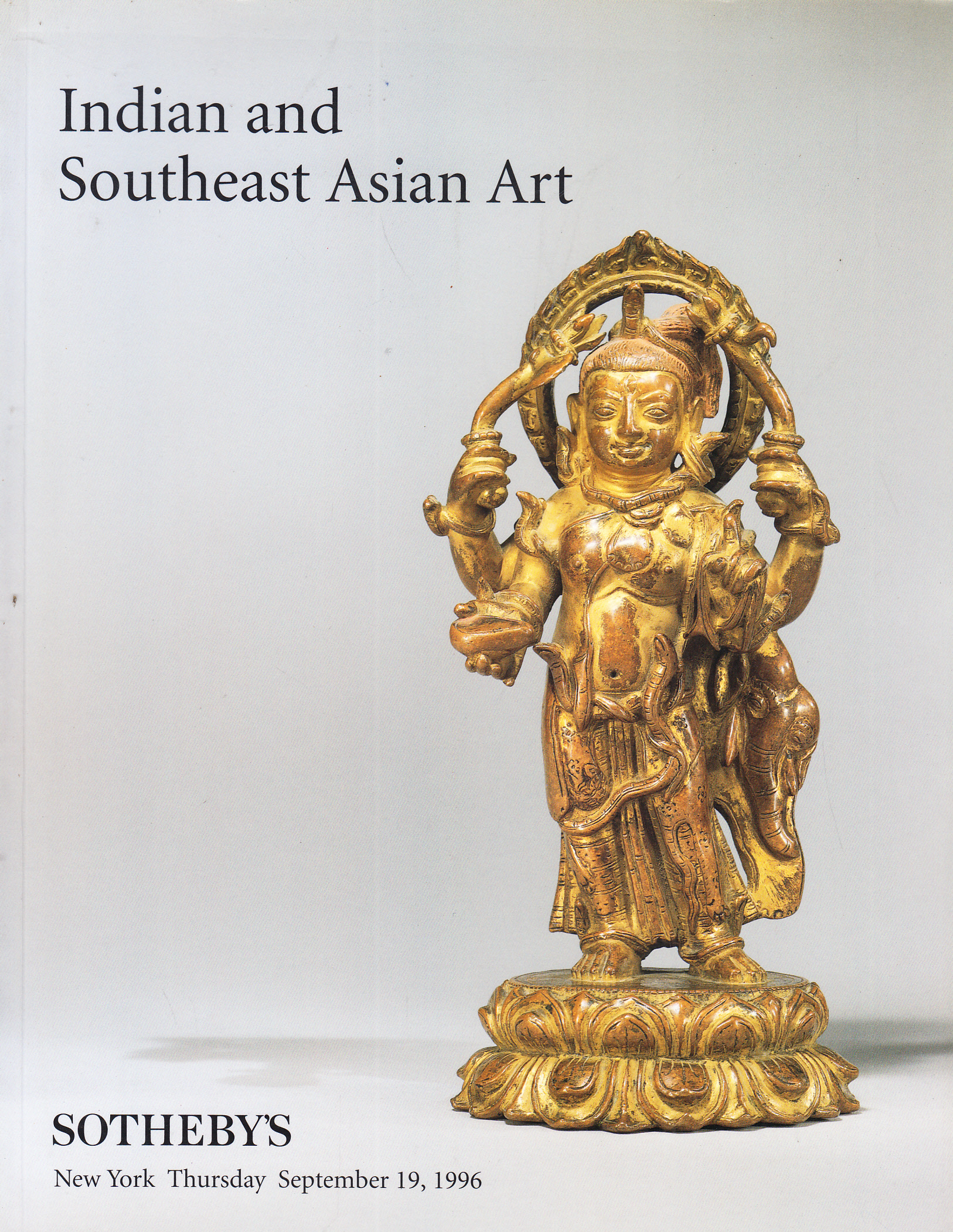 So Aa Indian And Southeast Asian Art New York 9 19 96 Sale
