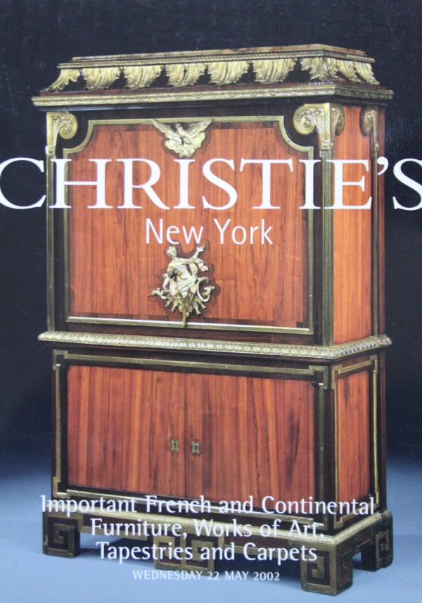 Christies French And Continental Furniture Ny 5 22 02