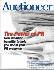 Auctioneer magazine