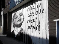 thou shalt not shill