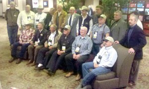 Past presidents of the Kansas Auctioneers Association