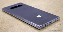 Samsung Galaxy Note8 back