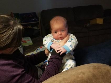 Month-old Gavin