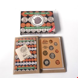 RAM 1991 Proof Coins Set, Commemorating 25 Years of Decimal Currency