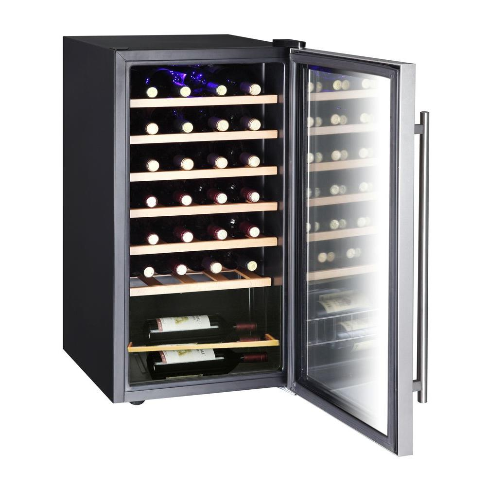 GLENDALE NEW Vissani Stainless Steel Wine Cooler Auction