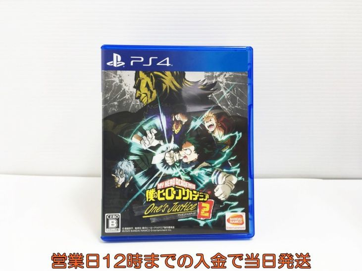 PS4 僕のヒーローアカデミア One's Justice2 状態良好 ゲームソフト 1A0624-118sy/F8