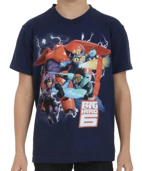 ディズニー ベイマックス 子供用Tシャツ 7歳児用 新品 送料込!_画像1