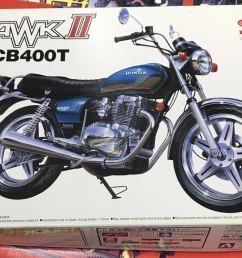 plastic model new goods not yet constructed hawk ii cb400t 1 12 naked bike series [ 1098 x 750 Pixel ]