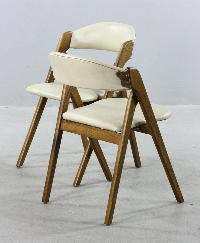 coronet folding chairs office chair herman miller lot detail set of 6 mid century modern wonderfold