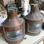 Vintage Port and Starboard Lights
