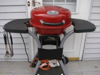 Masterbuilt Electric Covered Patio Outdoor Grill Red Model ...