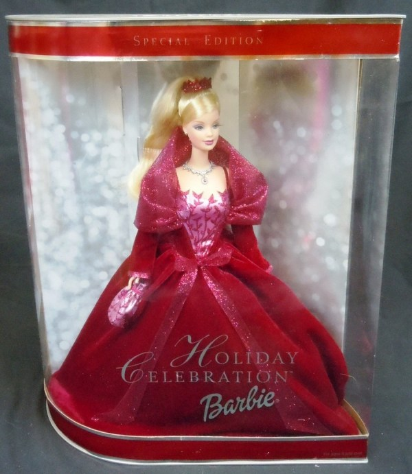 Lot Of 4 Special Edition Holiday Barbie Dolls Barbies Mib