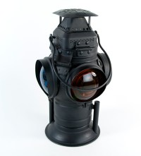 Vintage Adlake Non-Sweating Railroad Signal Lamp Lantern ...