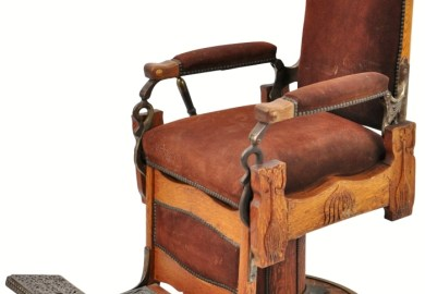 Koken Antique Barber Chairs