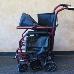 Walgreens Transport Chair Teak Shower Chairs With Arms Lightweight Folding Wheel Red 300 Lb Weight Capacity