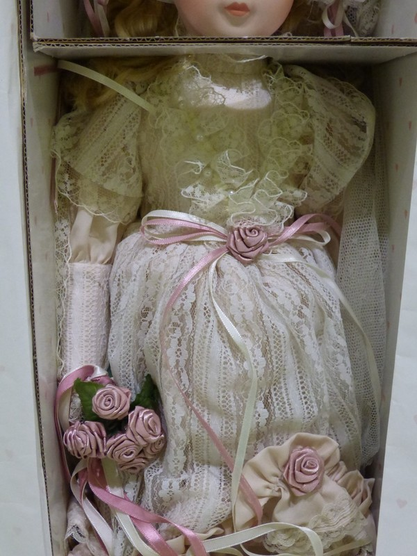 Hello Dolly Signature Series Collectible Porcelain Doll
