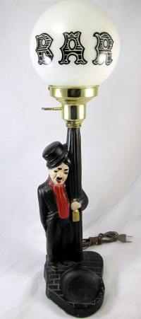 "Vintage 22"" Charlie Chaplin Drunk Man Leaning Against Pole ..."