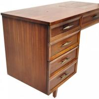 Mid Century Modern Retro Folding Sewing Table Vintage for ...