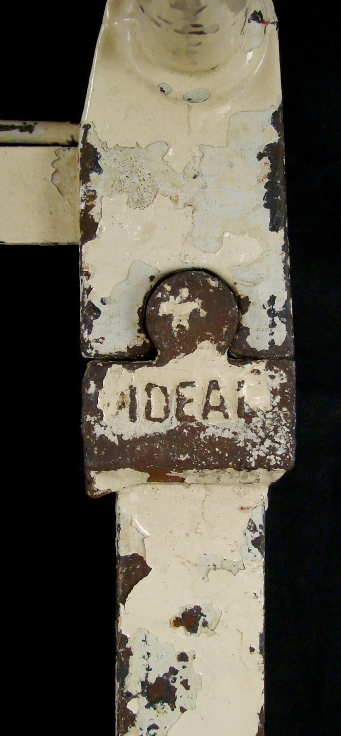 Antique Cast Iron Bed Full Bedroom Furniture Headboard