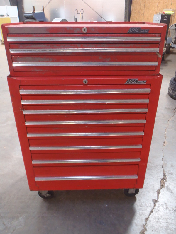 Mac Tools Tool chest Box rollaway tool Cart eBay