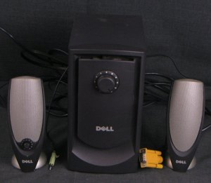 Dell Zylux Powered Computer Speaker System with Subwoofer