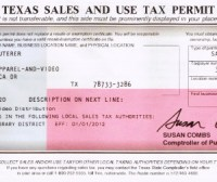 Texas Sales And Use Tax Permit | Foto Bugil Bokep 2017
