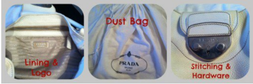 Genuine Prada Handbag Features eBay