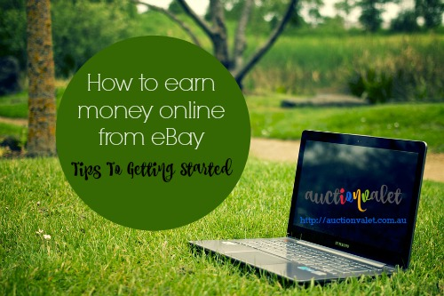 how to earn money online with an ebay business