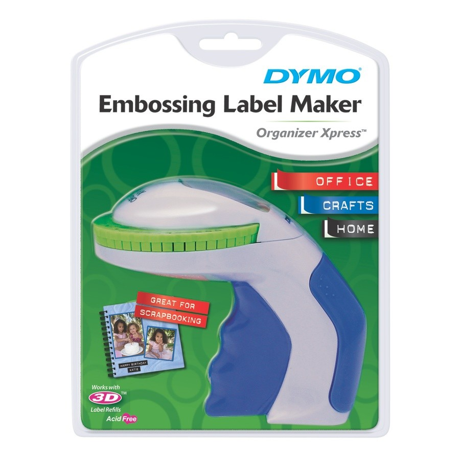 Dymo Organizer Xpress Embossing Labeler Label Maker + 1
