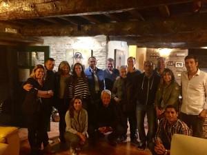 Con el Consejo de Dirección del Grupo Dinosol. Galicia, 2016