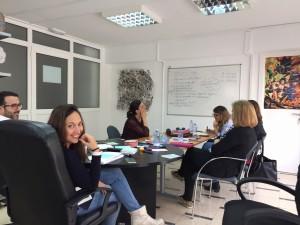 Jornada de trabajo en la sede de Audazia