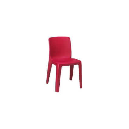 chaise empilable bordeaux denver aude plastique