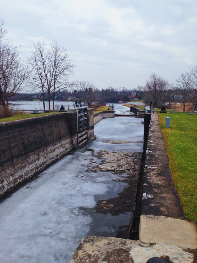 Rideau Canal in Merrickville