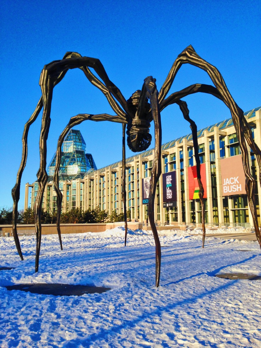 Meet Maman, the giant spider of Ottawa