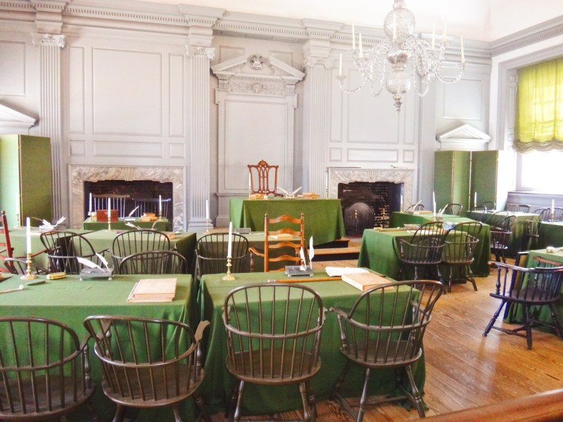 Inside the Independence Hall