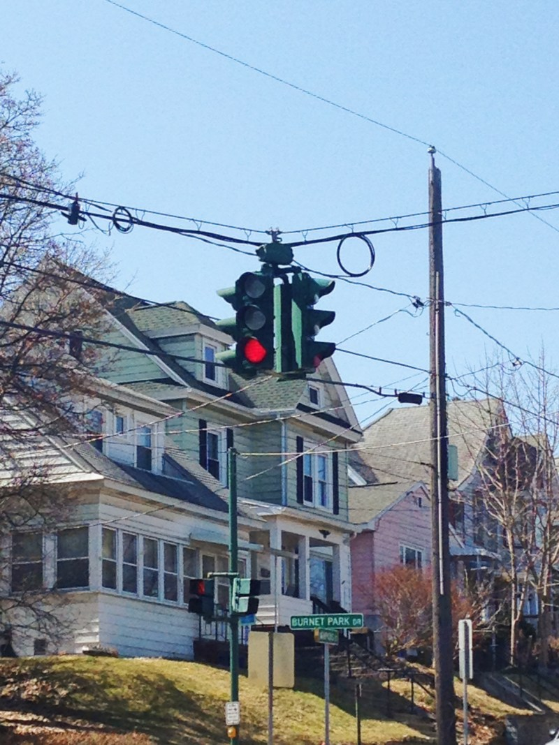 The traffic lights of Tipperary Hill