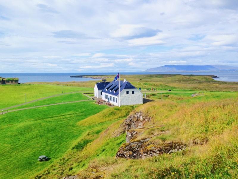 Visite de l'île Viðey