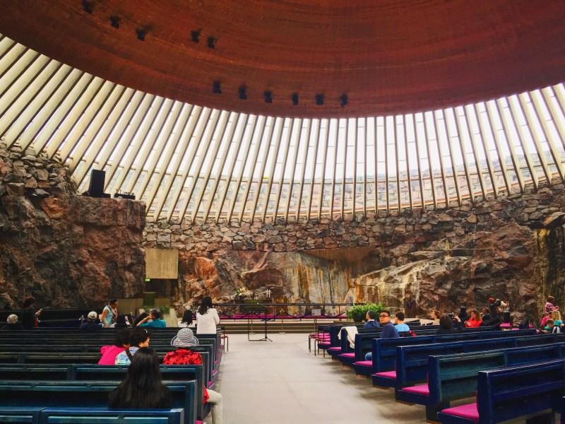 Église Temppeliaukio à Helsinki