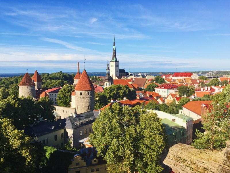 La vieille ville de Tallinn