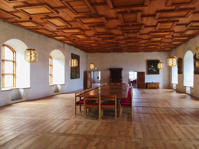Inside Turku Castle