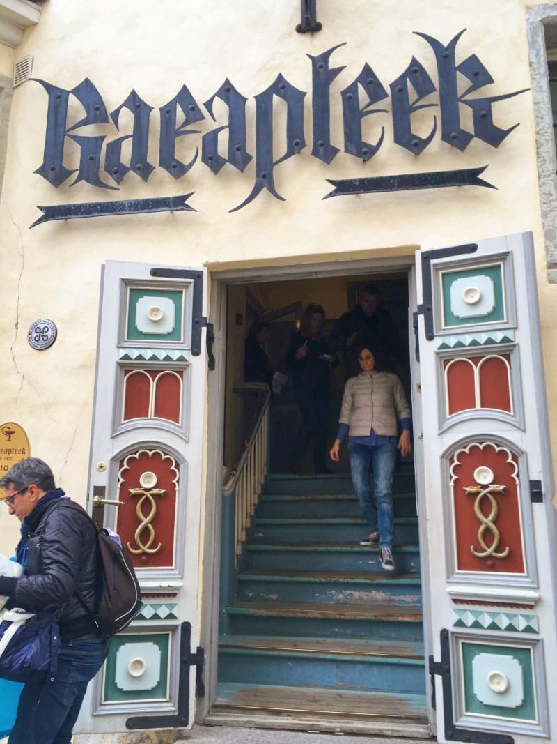 La pharmacie Raeapteek
