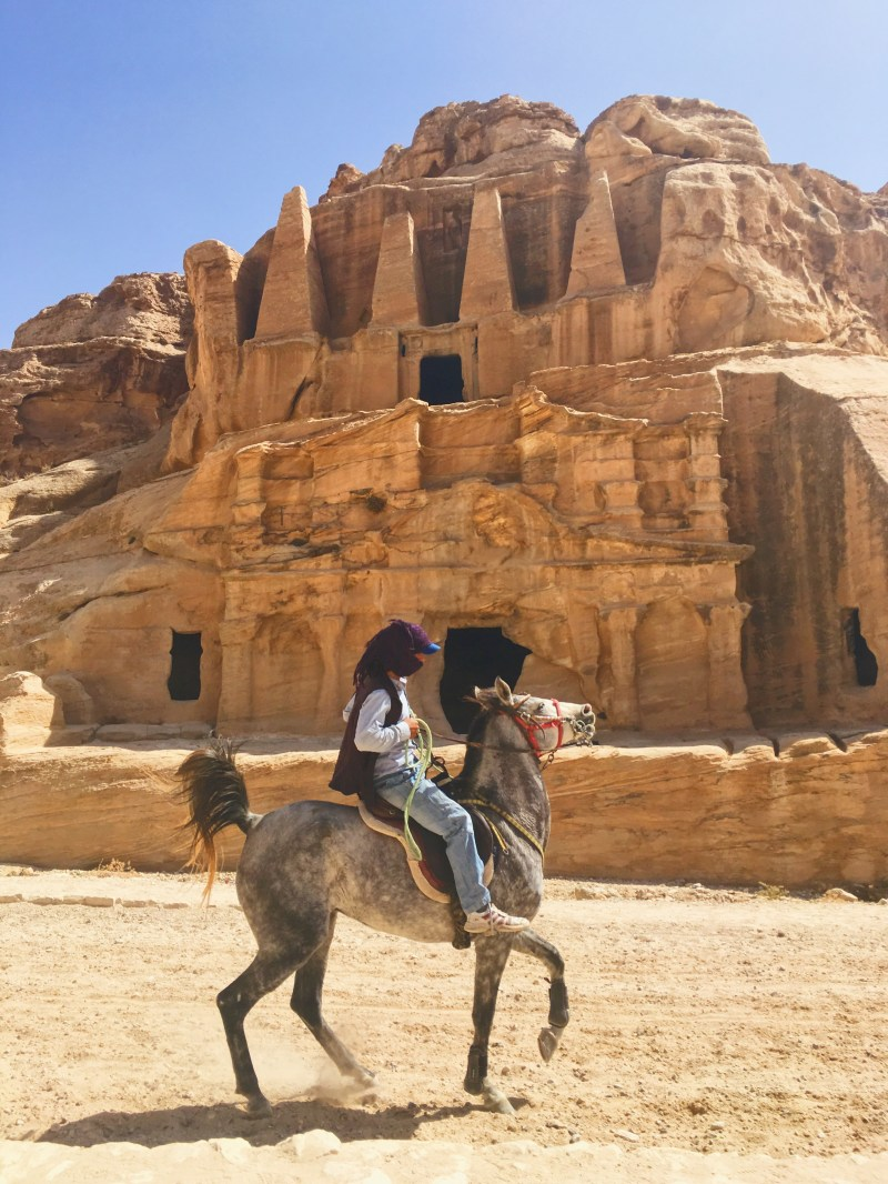 The Bab al Siq in Petra