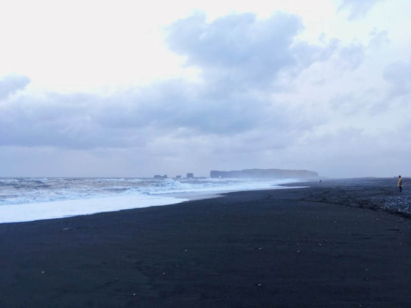 The black beach of Vik