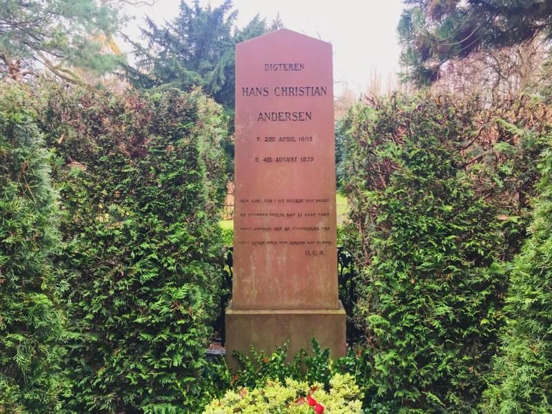 La tombe de H.C. Andersen