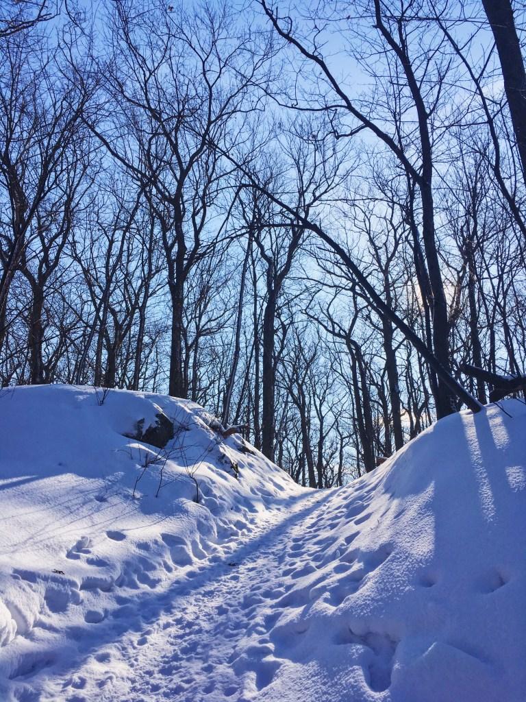 Le sentier du Calvaire est sans doute le sentier de randonnée le plus populaire du parc national d'Oka.