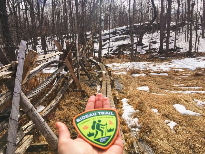 Rideau Trail badge